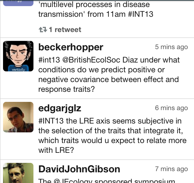 #INT13 tweets