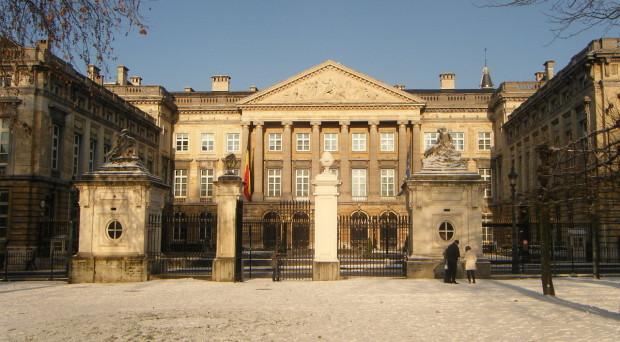 The Palais de la Nation in Brussels. Mirej, CC3.0