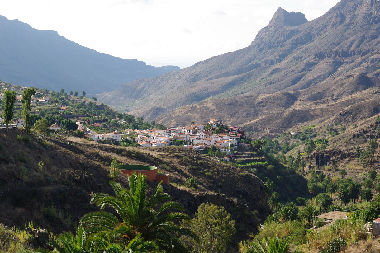 View of Gran Canaria.