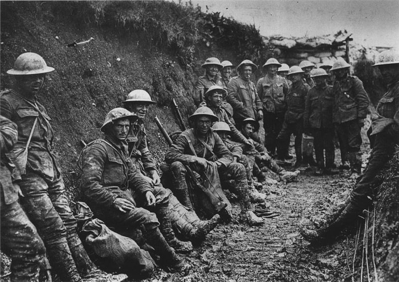 Royal Irish Rifles, Somme 1916 (photo:UK Government)