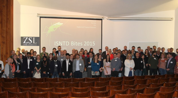 Participants at the ISNTD Bites meeting, 2015