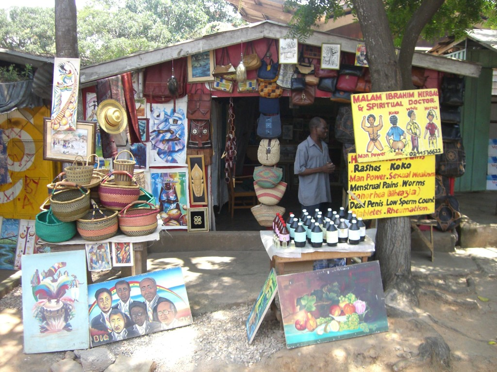 Traditional_healer_stand_in_Accra pic