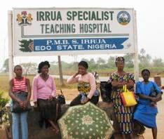 Irrua Specialist Teaching Hospital in Edo State, Nigeria Image: http://vhfc.org/consortium/partners/isth