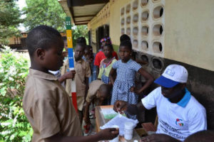 Distributing ivermectin to treat NTDs