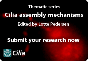 Cilia assembly mechanisms
