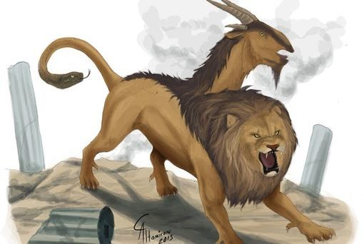 A mythical chimera. How could chimeras be used in science?