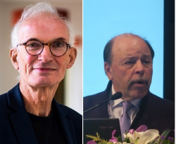 Prof. Ger Rijkers & Prof. Stephen I. Pelton