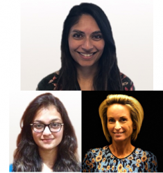 Dr. Leila Makhani, Priyanka Challa & Andrea Boggild