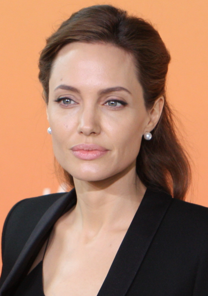 "Angelina Jolie 2 June 2014 (cropped)"" by Foreign and Commonwealth Office"