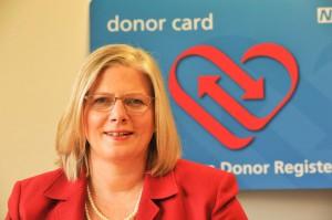 Sally Johnson, Sally Johnson, Director of Organ Donation and Transplantation at NHS Blood and Transplant