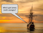 On 20th of May 1747, James Lind took 12 patients on board the Salisbury and suffering with scurvy to investigate whether citrus fruit would alleviate their symptoms.