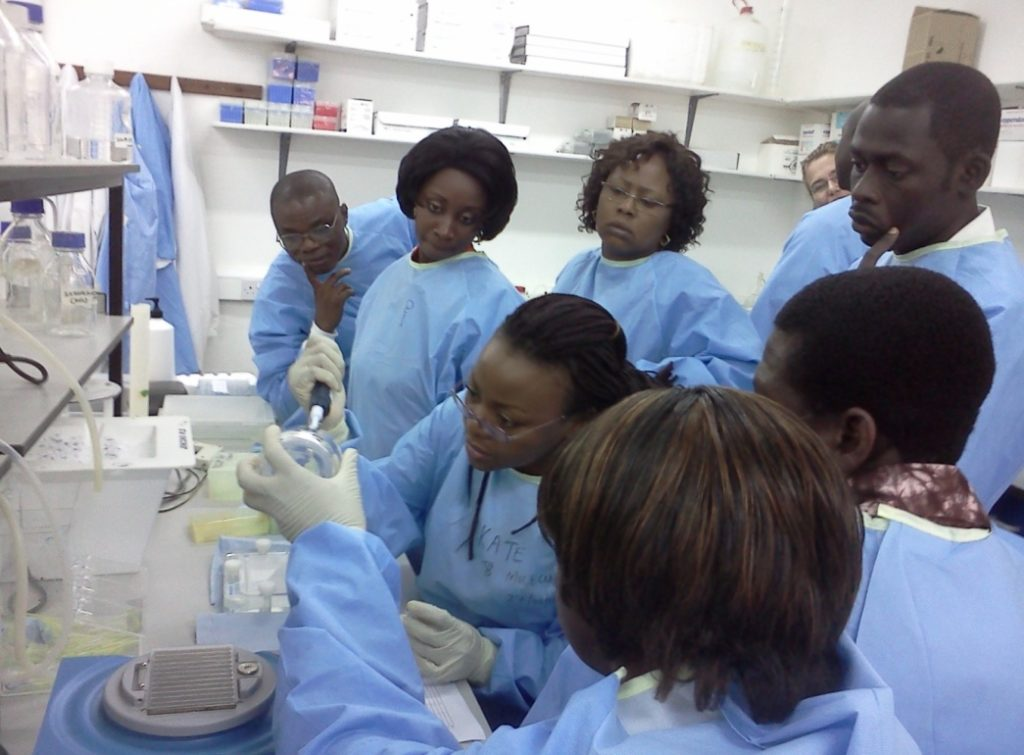 Training on Molecular detection of multi-drug resistance