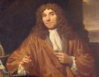 """Antonie van Leeuwenhoek, """"the Father of Microbiology"""" and first to observe bacteria under a microscope"""