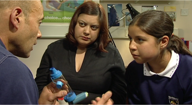 People living with asthma need a broad range of self-management skills.