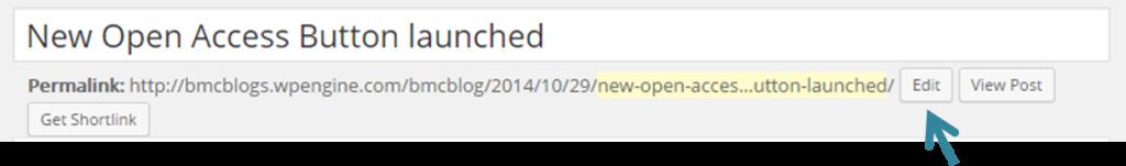 edit URL
